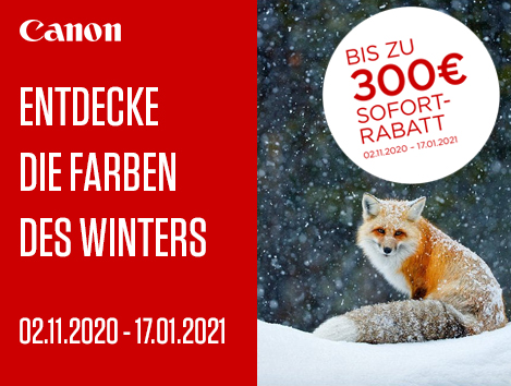 Canon winter cashback 2020