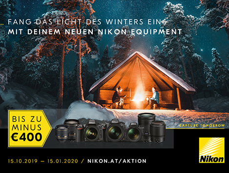 Nikon Winter Sofortrabatt 2019